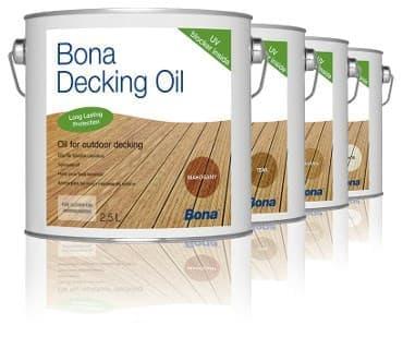 bona Decking oil Mahogany dan Teak