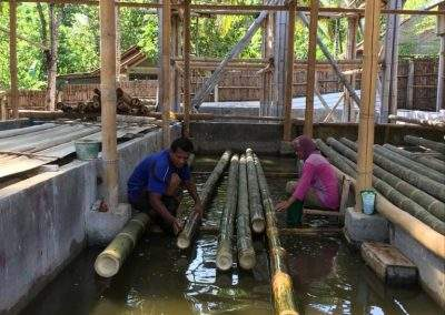 Indobel bamboo cleaning 1