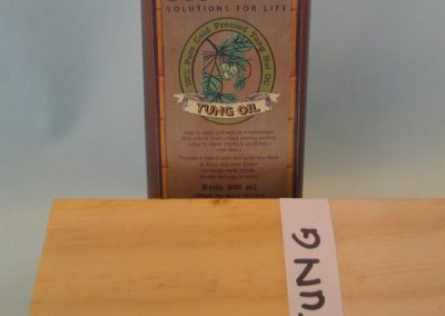 Tung oil Result