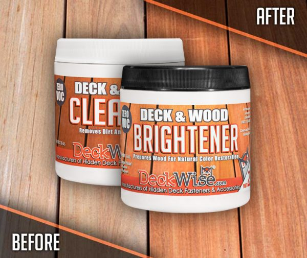 DeckWise Wood Cleaner and Brightener